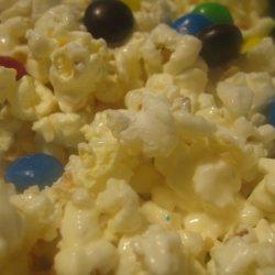 Easy White Chocolate Popcorn recipe