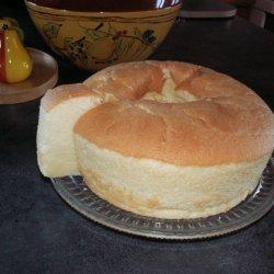 Lemon Glow Chiffon Cake recipe