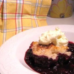 Blueberry Cobbler W A Twist recipe