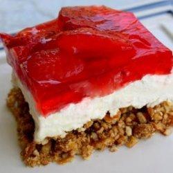 Grandma Whitakers Pretzel Cheesecake Jello recipe