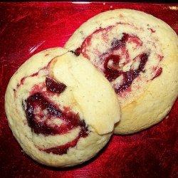 Cranberry Pinwheel Cookies recipe