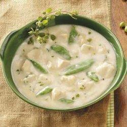 Lemon Chicken Velvet Soup For Two recipe