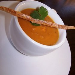 Sweet Potato Chipotle And Apple Soup recipe