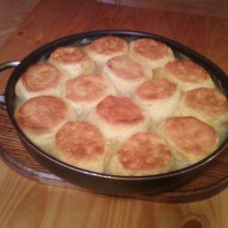 Chicken Stew N Biscuits recipe