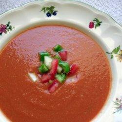 Gazpacho Spanish Cold Tomato Soup recipe