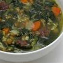 Italian Sausage And Spinach Soup recipe