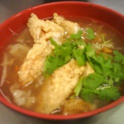 Fried Fish Soup recipe