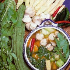 Gaeng Liang Southern Thai Vegetable Curry Soup recipe