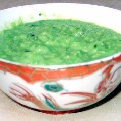 Thai  Coconut Pea Soup recipe