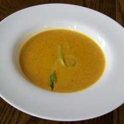 Curried Carrot  Ginger Soup recipe