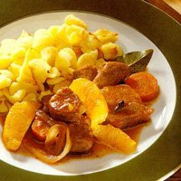 French Pork Stew With Oranges recipe