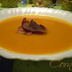 Sweet Potato Pumpkin Soup With Chili recipe