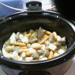 Beef Stew Slow Cooker recipe