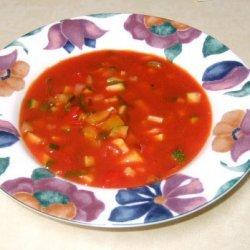 Gazpacho Or Salad Soup recipe
