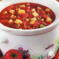 Beef Vegetable Soup  Diabetic Friendly recipe