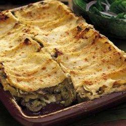 Artichoke and Mushroom Lasagna recipe