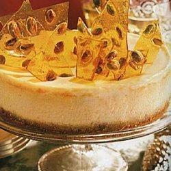 Pistachio Brittle Cheesecake recipe