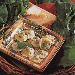 Swiss Chard Ravioli recipe