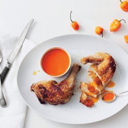 Roast Chicken with Hot-Sauce Butter recipe