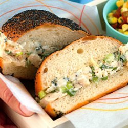 Chicken Salad Sandwiches with Blue Cheese recipe