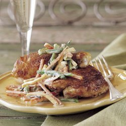 Chicken with Truffles and Champagne Sauce recipe