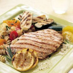 Grilled Lemon and Rosemary Chicken recipe