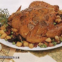 Chicken with Truffles, Wild Mushrooms and Potatoes recipe