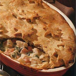 Chicken and Fall Vegetable Pot Pie recipe