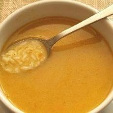 Creamy Turkey Or Chicken Soup recipe