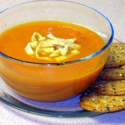 Fresh Carrot And Ginger Soup recipe