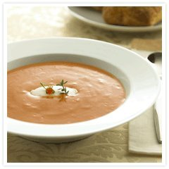 Tomato Soup And Goat Cheese recipe
