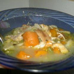 Kitchen Sink Chicken Soup recipe