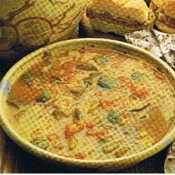 Tomatoe Zucchini Soup recipe