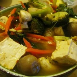 Thai Style Hot And Sour Soup recipe