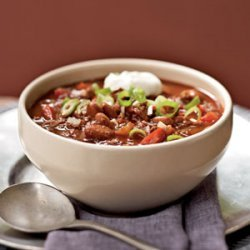 Chipotle Chili With Homemade Sauce recipe