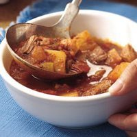 Slow Cooker Chili Beef Stew recipe