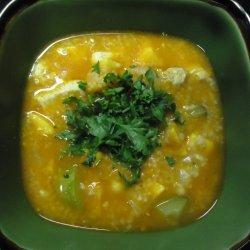 Moroccan Chicken & Couscous Soup recipe