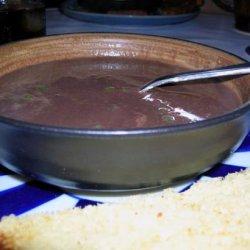 Cola Black Bean Soup recipe