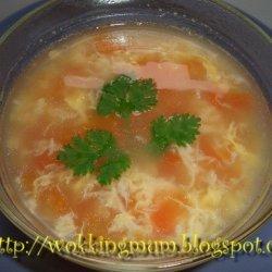 Tomato And Egg Soup recipe