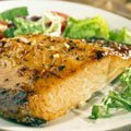 Salmon Steaks With Garlic And Green Chilies recipe
