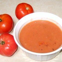 End Of The Season Tomato Soup recipe