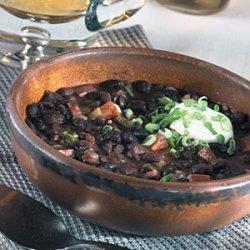 Jamaican Black Bean Soup recipe
