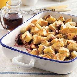 One-Dish Blackberry French Toast recipe
