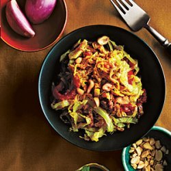 Simmered Cabbage with Beef, Shan Style recipe