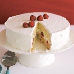 Tres Leches Cake with Raspberries recipe