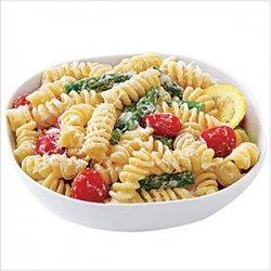 Creamy Lemon Pasta with Vegetables recipe