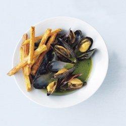 Garlic Oven Fries recipe