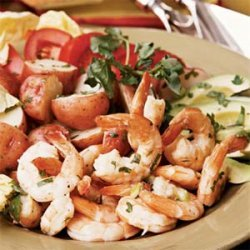 Lime Shrimp Salad recipe