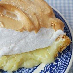 Mile-High Coconut Cream Meringue Pie recipe