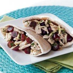 Red Grape & Tuna Salad Pita recipe